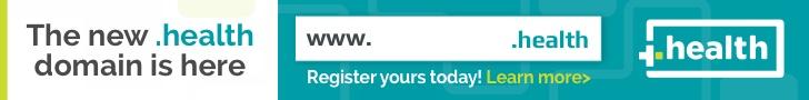 .health domain banner