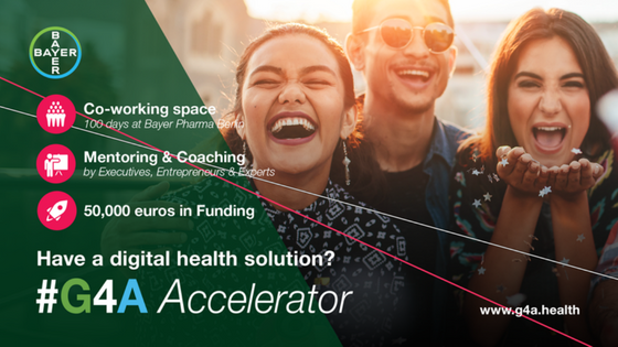 Have a digital health solution? G4A Accelerator