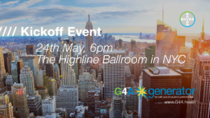 G4A Generator Kickoff event in New York City on May 24th