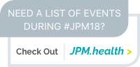 Need a list of events during #JPM18? Check out jpm.health