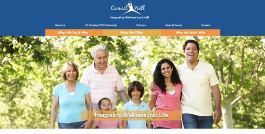 ConnectWell website screenshot