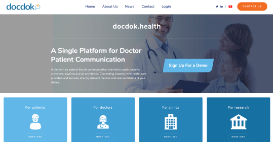 docdok website screenshot