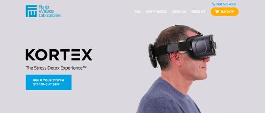 Fisher Wallace Laboratories website screenshot