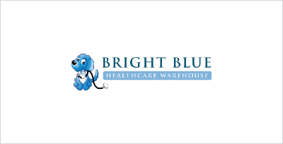 Bright Blue Healthcare Warehouse