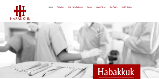 Habakkuk website screenshot