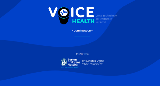 Voice Health website screenshot