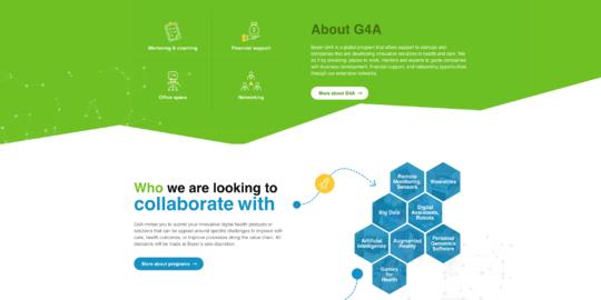 Bayer website screenshot