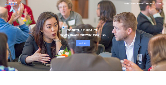 Together.Health Collaborative website screenshot