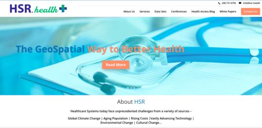 Health Solutions Research, Inc. website screenshot