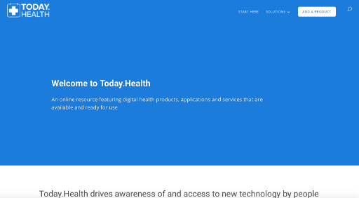 Digital Health Today website screenshot