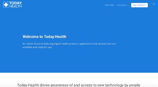 Digital Health Today website screenshot