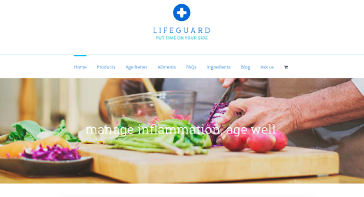 Lifeguard Health website screenshot