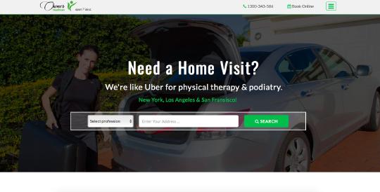Owner website screenshot
