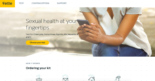 Fettle Health website screenshot