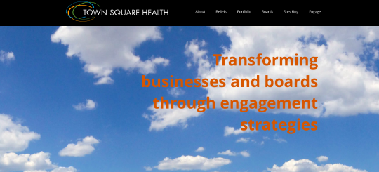 TownSquare website screenshot