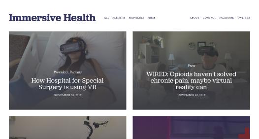 AppliedVR website screenshot