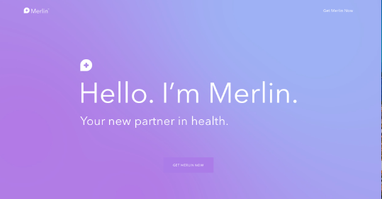 Merlin  website screenshot