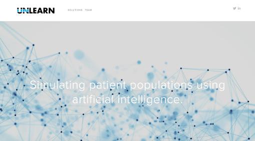 Unlearn  website screenshot